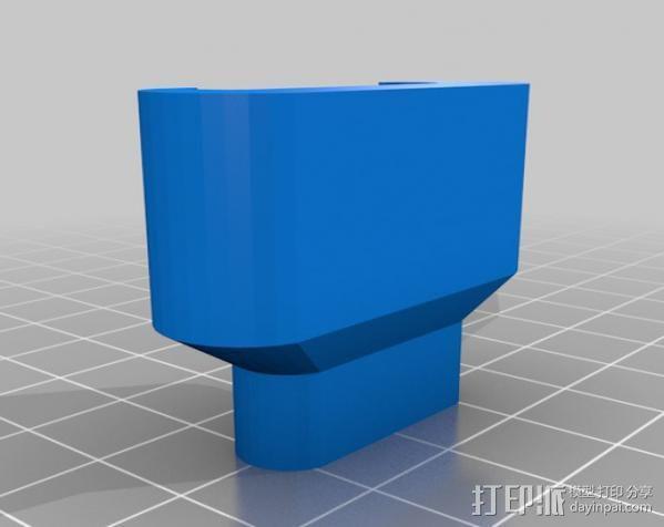 iPad充电器保护插头 3D模型  图1