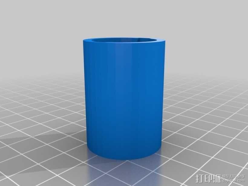 存储胶囊 3D模型  图1