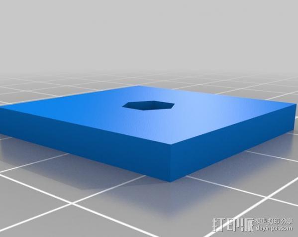 三角架 3D模型  图2
