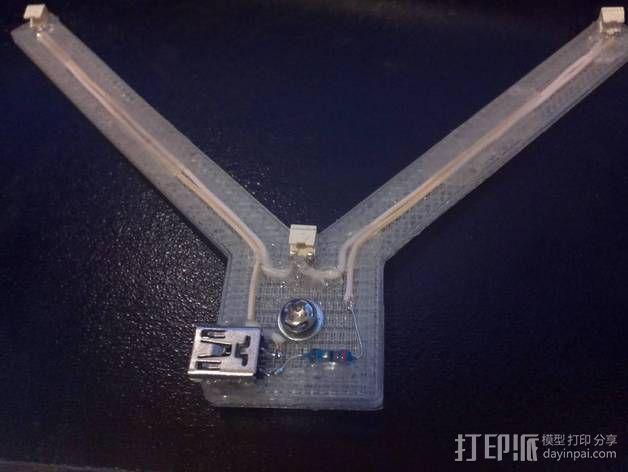 三角架 3D模型  图3