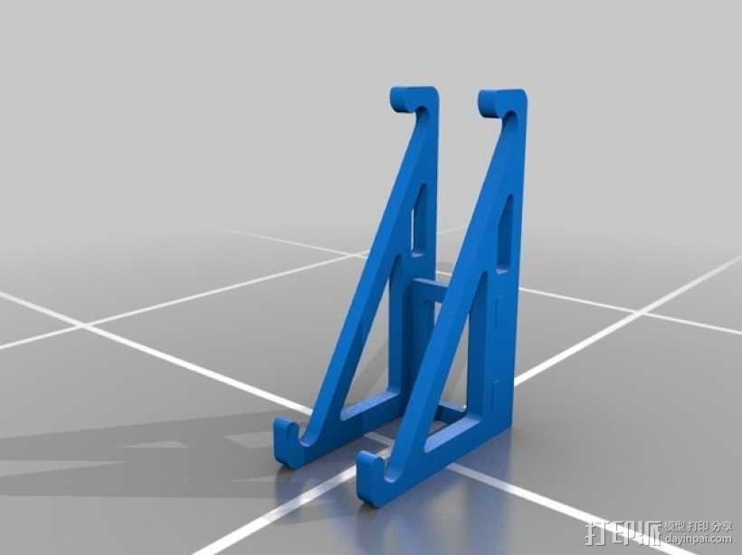 平板支架 3D模型  图1