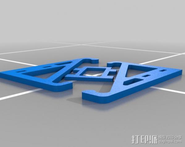 平板支架 3D模型  图6