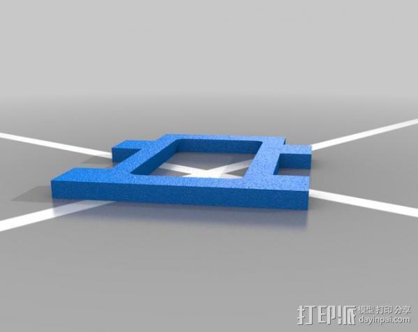平板支架 3D模型  图7