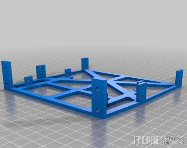 电脑机箱适配器 3D模型  图1