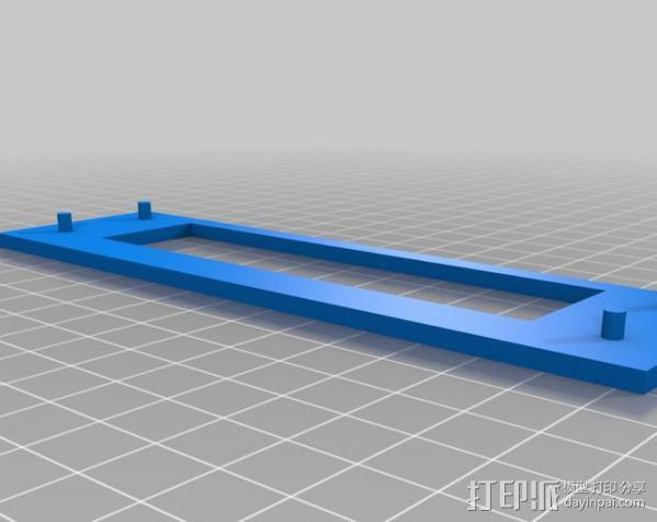 电脑机箱适配器 3D模型  图3