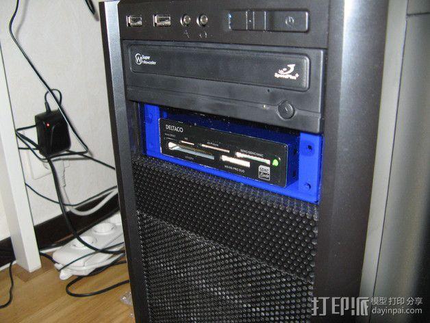 电脑机箱适配器 3D模型  图2