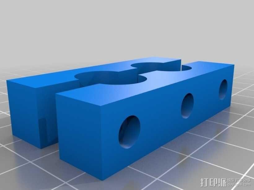 Fanatec适配器 3D模型  图1