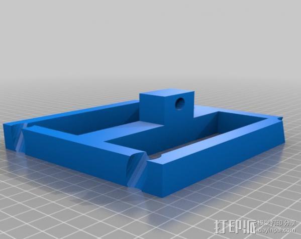 自行车发电器 3D模型  图2