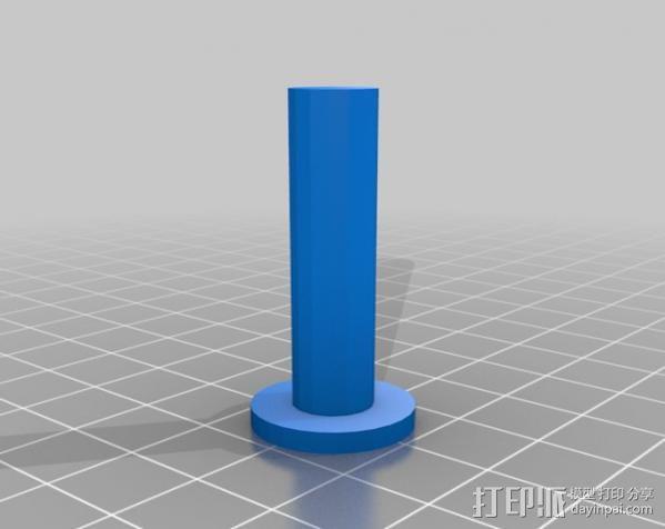 自行车发电器 3D模型  图4
