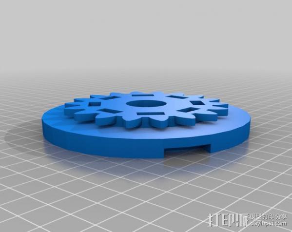 自行车发电器 3D模型  图5