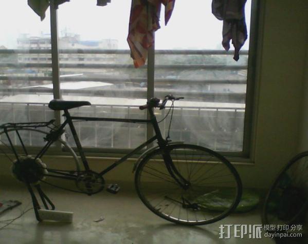 自行车发电器 3D模型  图7