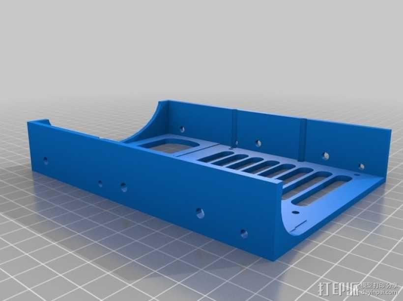 硬盘 3D模型  图1