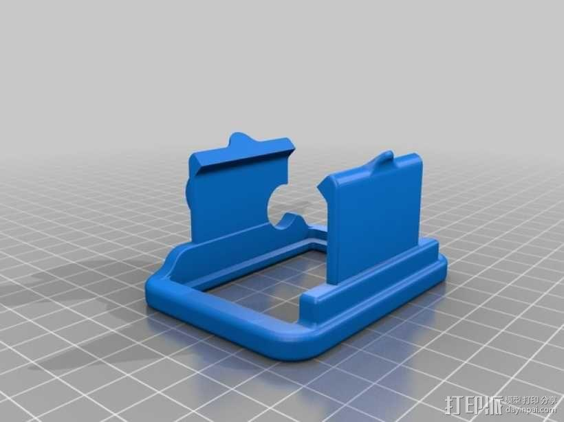 GoPro Hero 2 支架 3D模型  图1