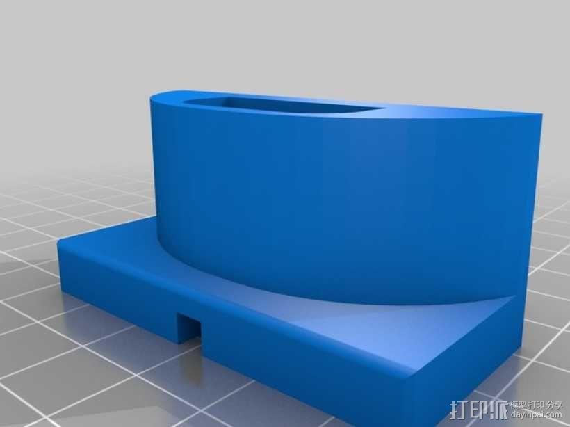 蓝牙耳机充电器 3D模型  图3