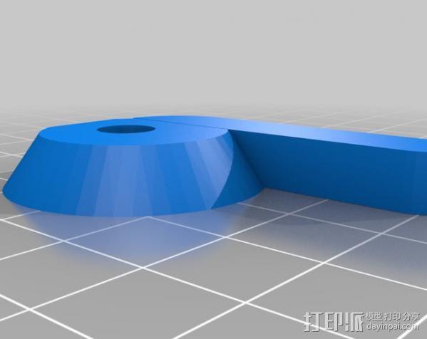 三脚架适配器 3D模型  图3