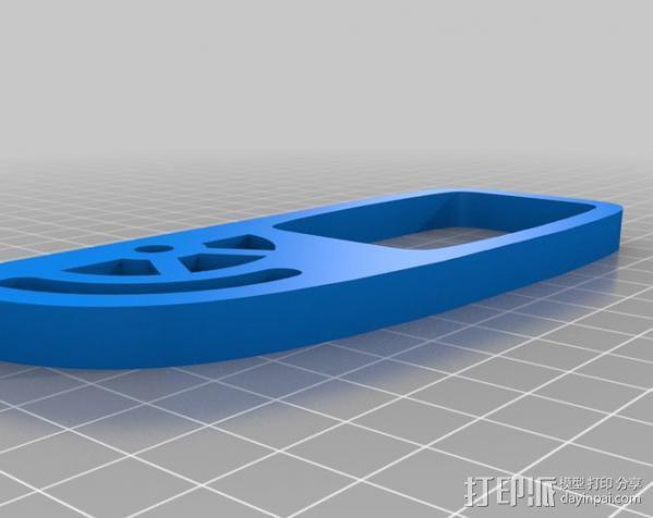 三脚架适配器 3D模型  图5