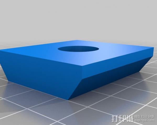 三脚架适配器 3D模型  图4