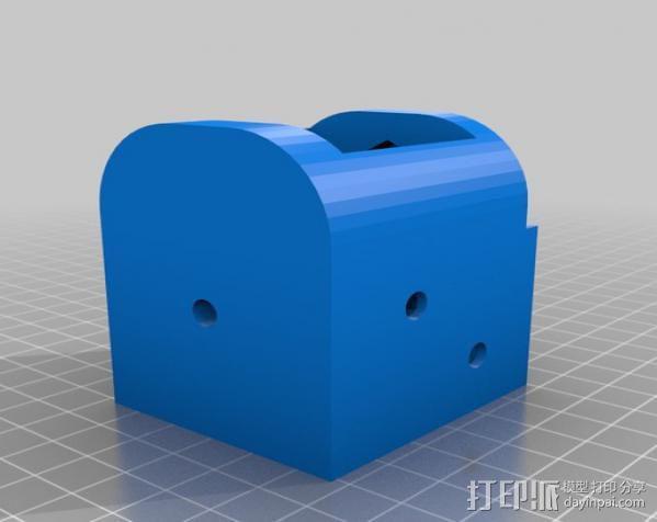 三脚架适配器 3D模型  图6