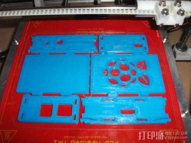 Raspberry Pi保护壳 3D模型  图1