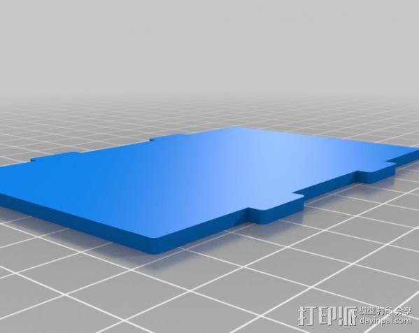 Raspberry Pi保护壳 3D模型  图3