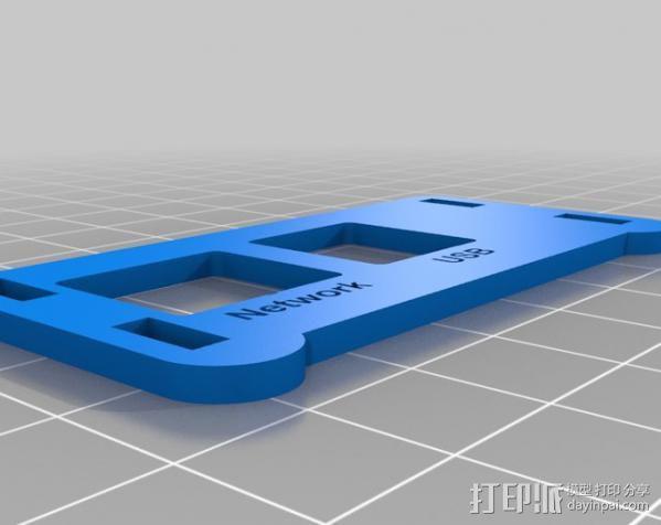 Raspberry Pi保护壳 3D模型  图5