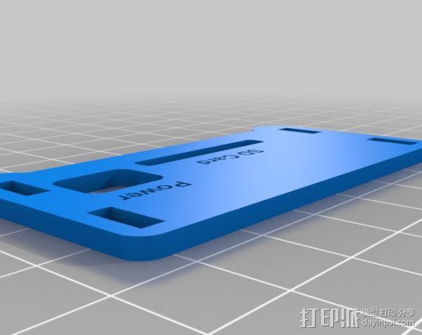 Raspberry Pi保护壳 3D模型  图7
