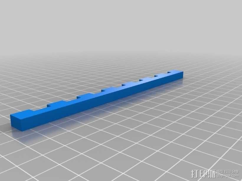通用平板支架 3D模型  图2