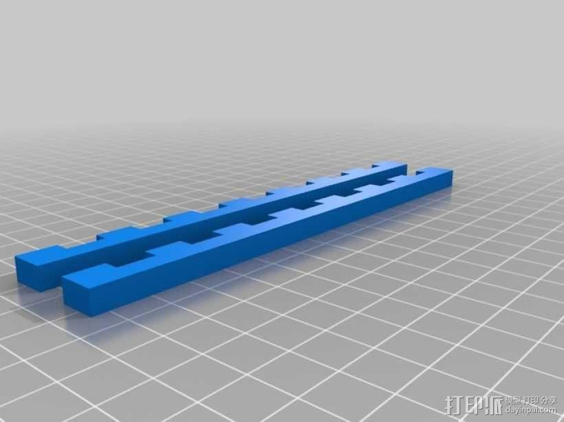 通用平板支架 3D模型  图3