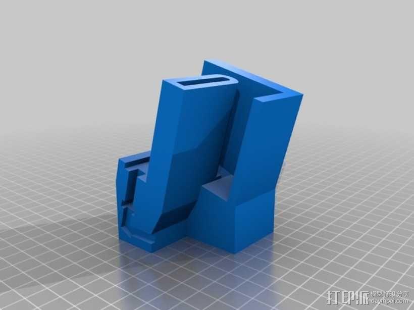 Galaxy Note 手机座 3D模型  图2