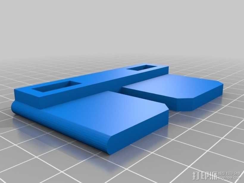 Galaxy Note 手机座 3D模型  图4