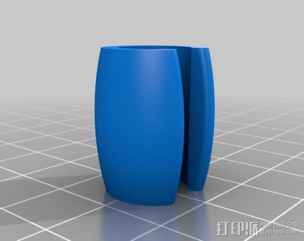 耳机夹 3D模型  图1
