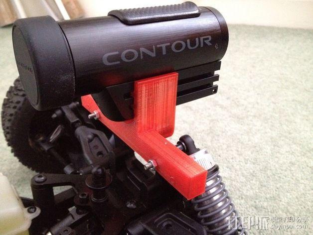 照相机挂载 3D模型  图2