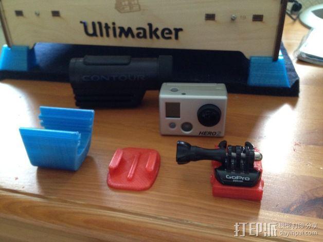 照相机挂载 3D模型  图1