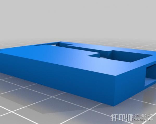 Canon SX200适配器 3D模型  图1