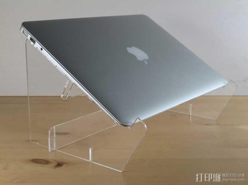 Macbook Air支架 3D模型  图1