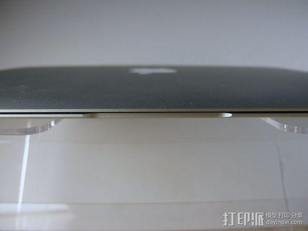 Macbook Air支架 3D模型  图4