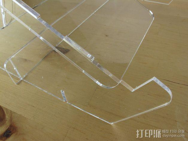 Macbook Air支架 3D模型  图2