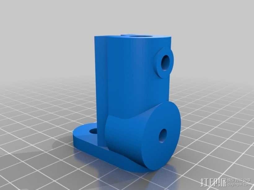 摄像机挂载 3D模型  图1