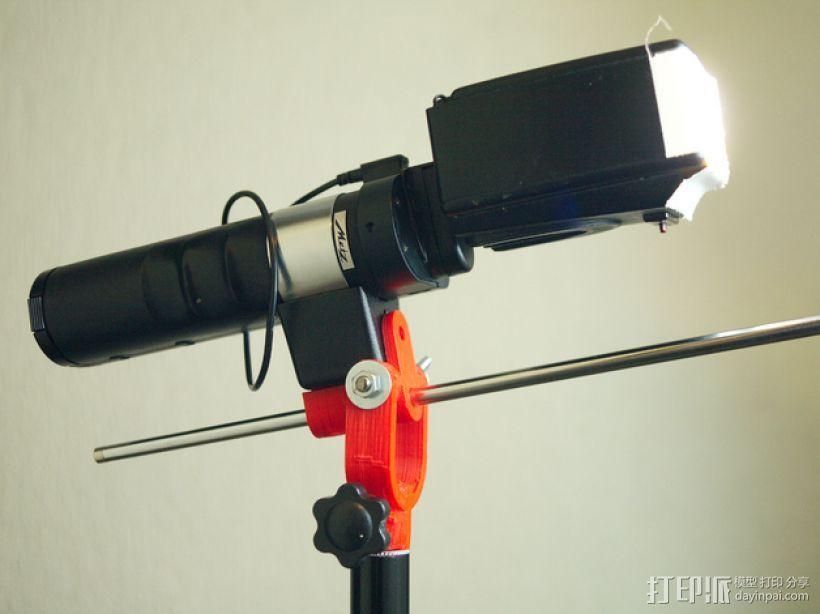 摄像机挂载 3D模型  图4