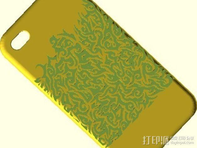 Iphone4 手机壳 3D模型  图2