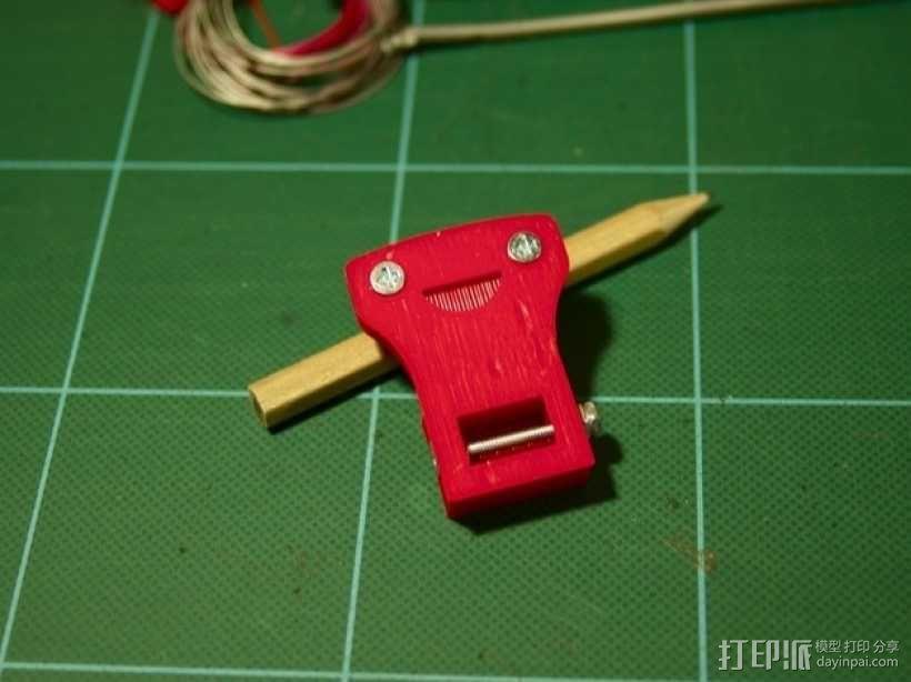 摄像头适配器 3D模型  图4