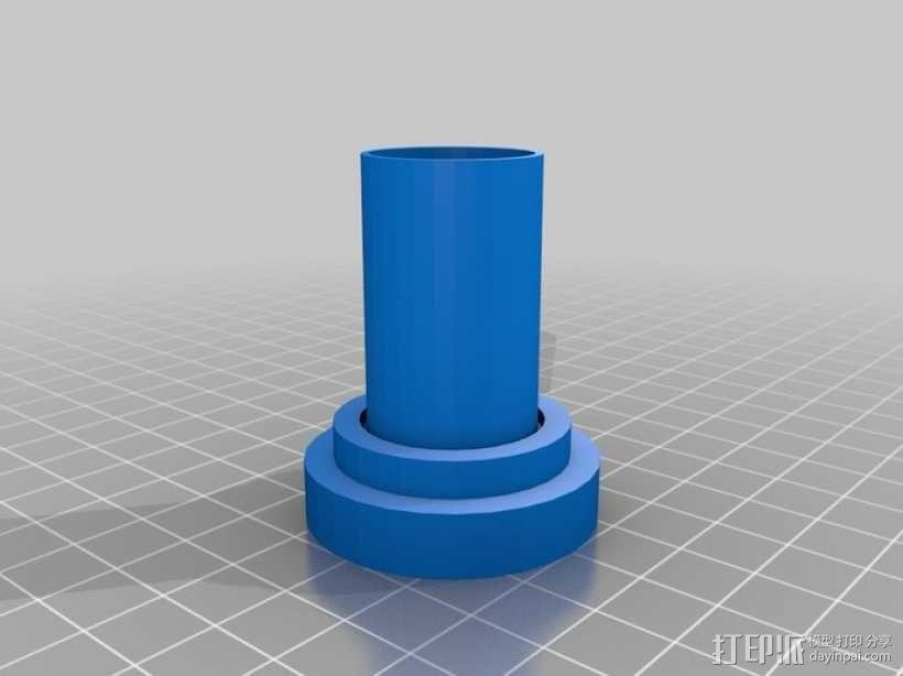 Canon EF 找相机适配器 3D模型  图7