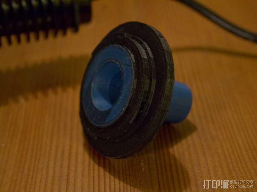 Canon EF 找相机适配器 3D模型  图9