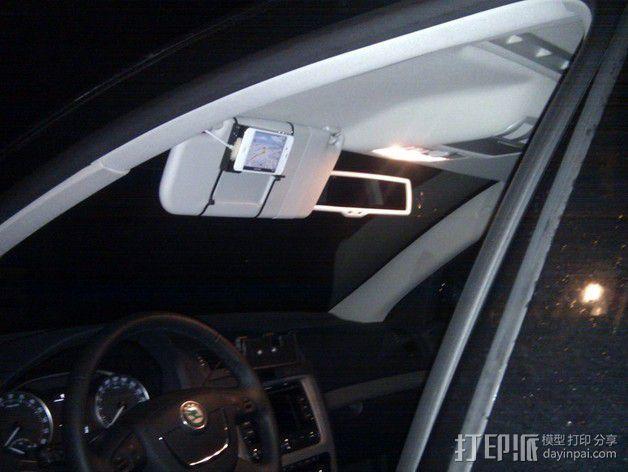 iphone 车载手机座 3D模型  图2