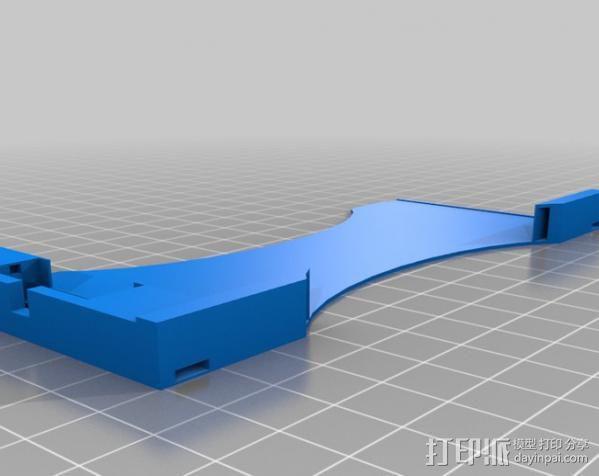 iphone 车载手机座 3D模型  图4