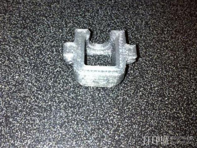 耳机适配器 3D模型  图3