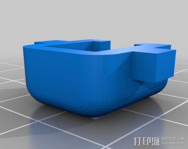 耳机适配器 3D模型  图4