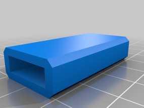 USB保护壳 3D模型