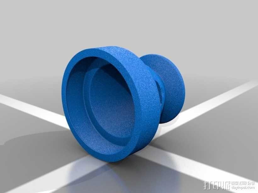 操纵杆适配器 3D模型  图1