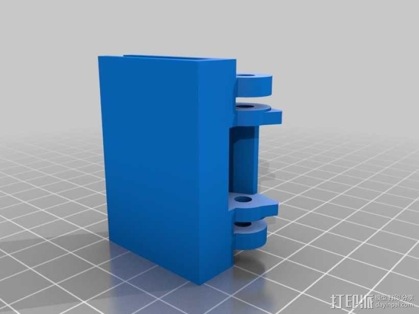 唱片机盖子 3D模型  图1